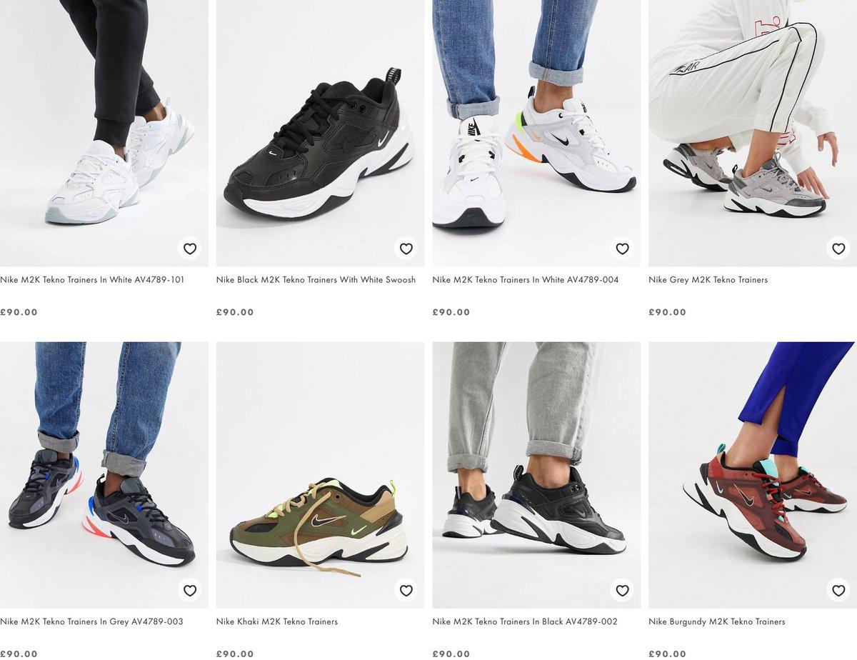 check out 49e8c 3884c Nike m2k tekno » oferty 2019 » Okazje.info. Sneaker Myth na Twitterze
