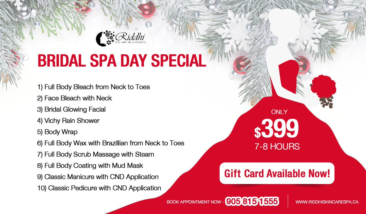 Christmas Spa Packages.Bridalspapackage Hashtag On Twitter