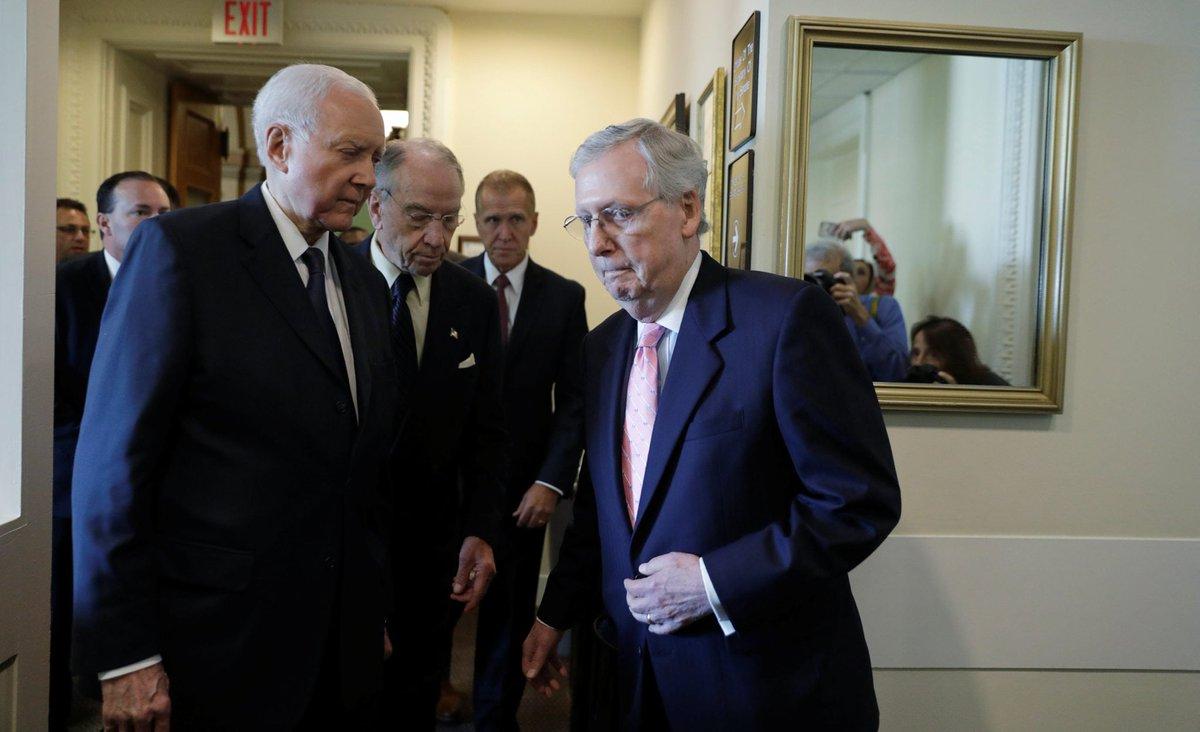 Senate Showdown Coming On Trump's Court Nominees dlvr.it/QrbL2V