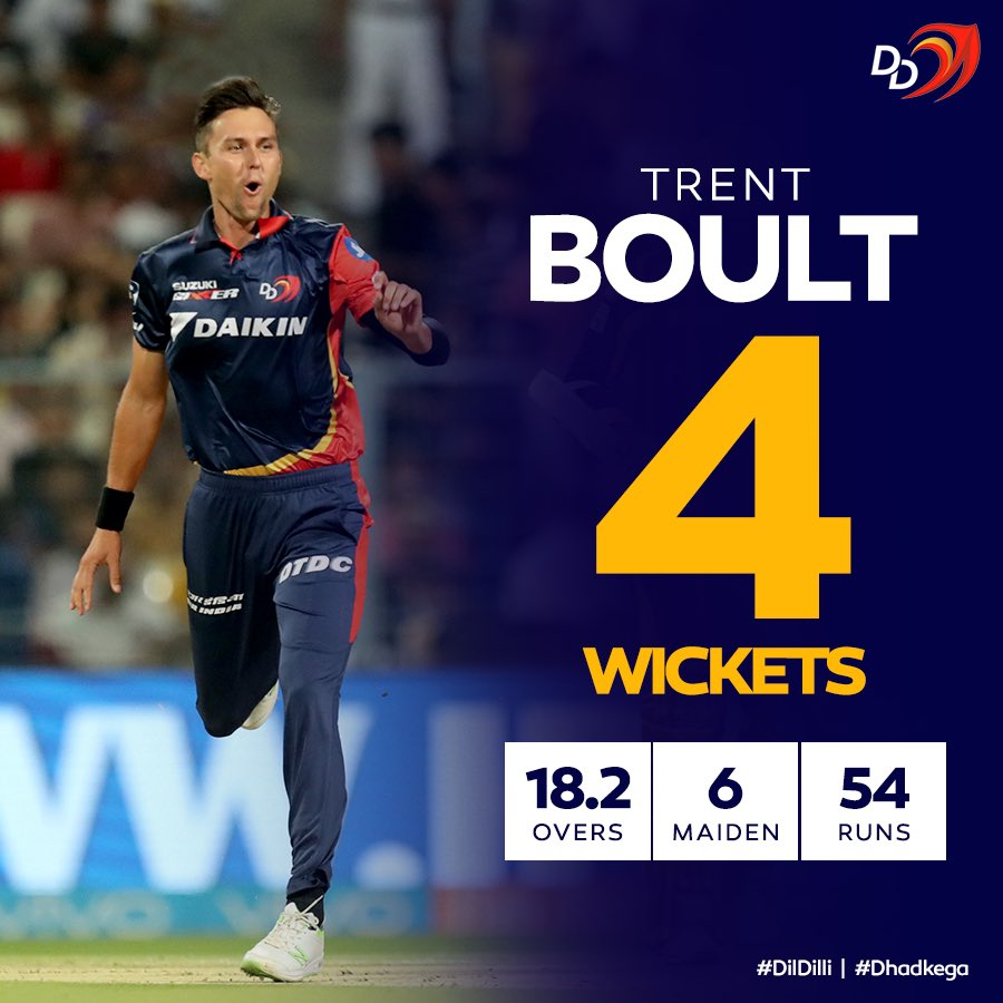 .@trent_boult's first-innings exploits were instrumental in keeping the Pakistan total in check on Day 3, as New Zealand prevailed by 4 runs in a nervy finish at Abu Dhabi today!  #DilDilli #Dhadkega