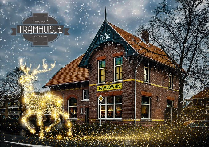 ADV; Kersteditie Vastgoedborrel in Tramhuisje op 14 december https://t.co/53LiZcu8d2 https://t.co/FWmmGSud4v