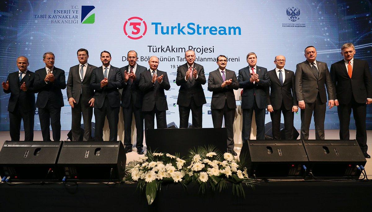 Морской участок «Турецкого потока» достроен. Президенты России и Турции приняли участие в торжественной церемонии в Стамбуле https://t.co/8yUlJWsZ5o