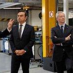 Image for the Tweet beginning: Carlos Ghosn vient de faire