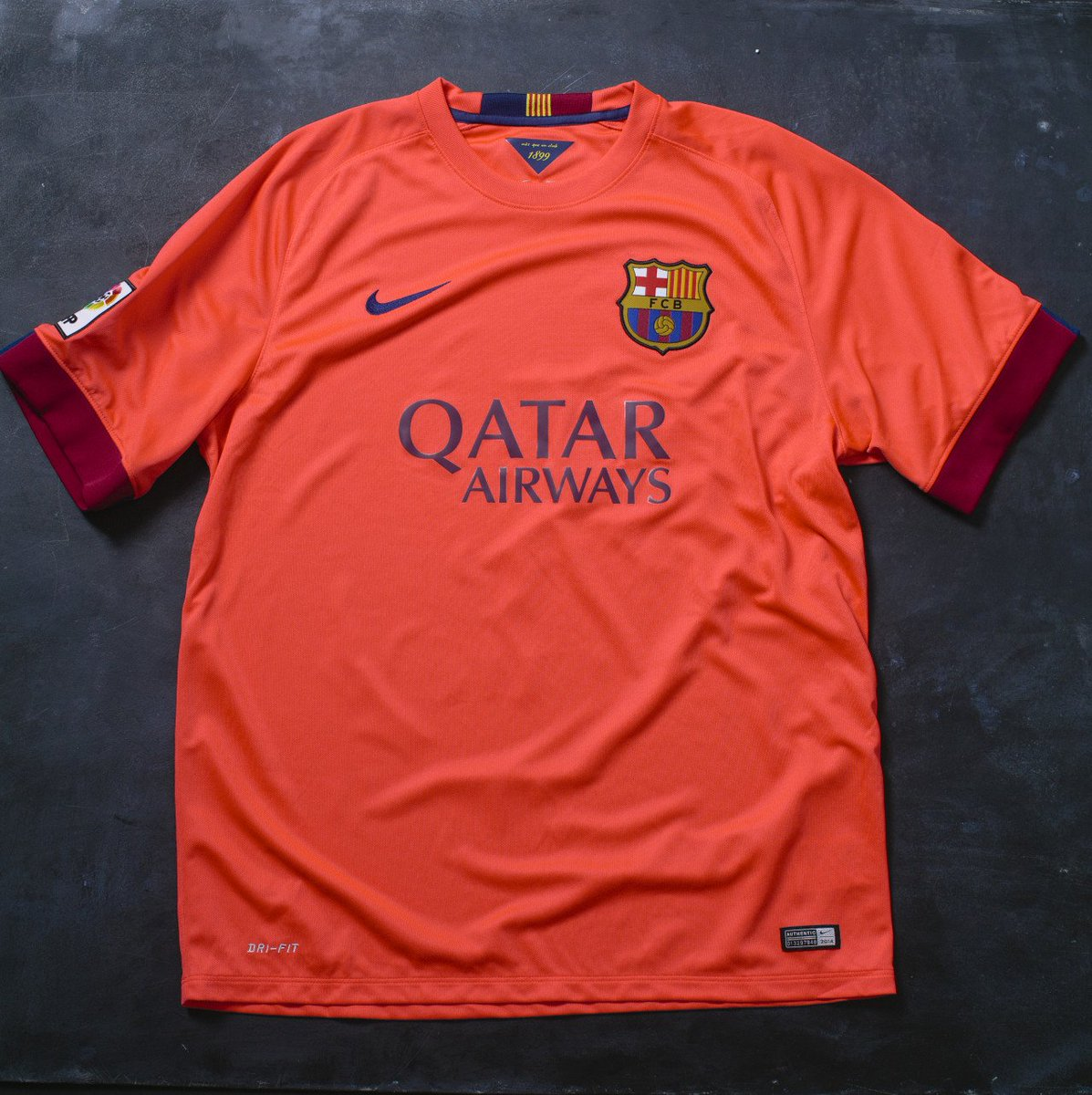 World Soccer Shop On Twitter Worldsoccershop S Barcelona X Nike Vault Collection From 2013 2018 1 St Jersey The 2013 15 Barcelona Away Jersey The 1st Yr That Qatar Airways Was The Jersey Sponsor 2