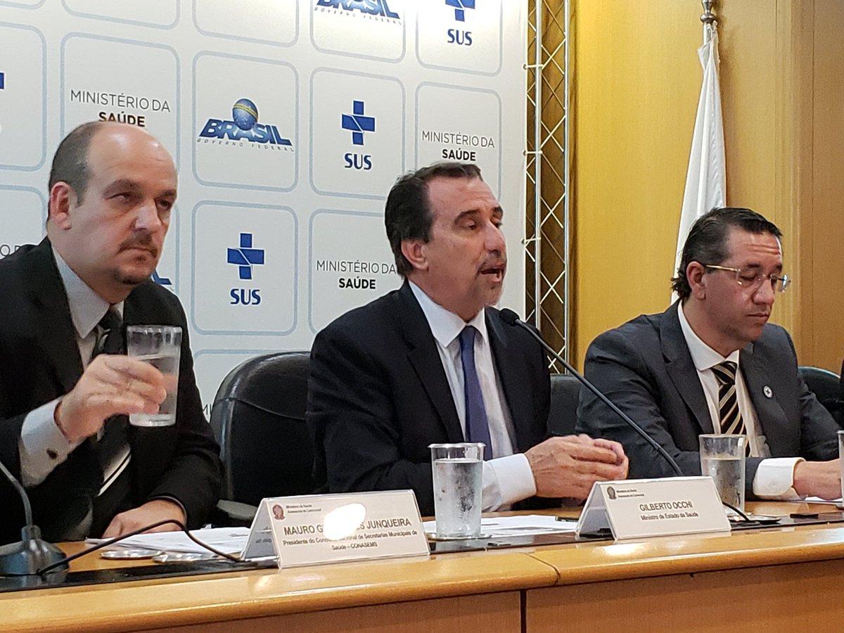 'Nós queremos que dia 3 de dezembro, o médico habilitado, se apresente no município', frisa o ministro Gilberto Occhi. #NovoEditalMaisMédicos