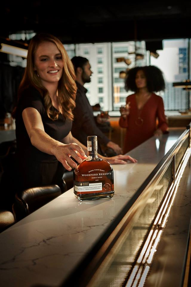 Reach for flavor. Reach for Woodford Reserve Double Oaked.