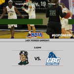 Image for the Tweet beginning: GAMEDAY! @CRCPioneerWBB is back at