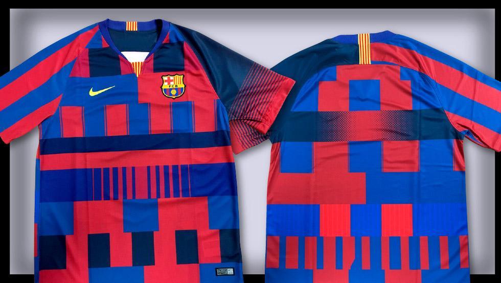 Camiseta especial de Nike por los 20 años con el  Barçapic.twitter.com qf7Iceiryy ceddc6b4d586e
