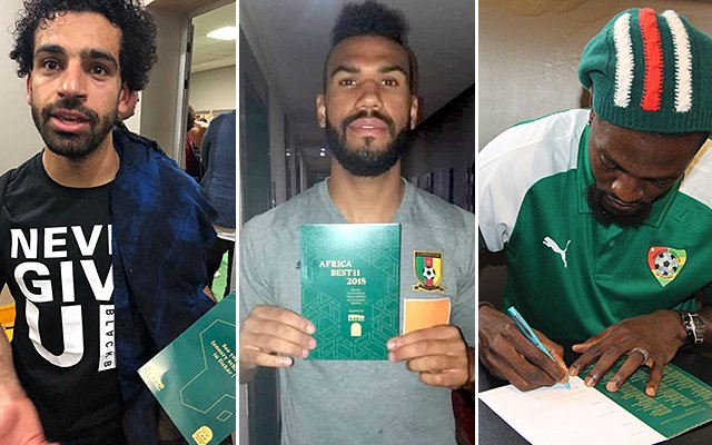 🗳️@LFC striker @MoSalah 🇪🇬@PSG_inside forward Eric Choupo-Moting 🇨🇲and @ibfk2014 frontman @E_Adebayor 🇹🇬have voted for their Best Africa 11 FIFPro and @CAF_Online are inviting 54 African national teams to vote More here ➡️fifpro.org/news/salah-vot…