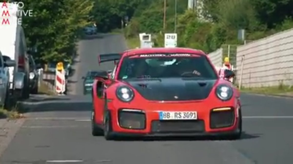 24wheel News On Twitter Porsche 911 Gt2 Rs Mr At Nurburgring Which Had Lapped The Circuit In 6 40 3