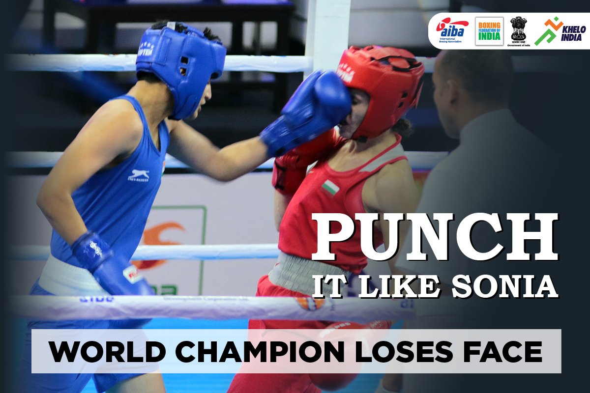 AIBA C'ship: Sonia enters quarters after a controversial bout