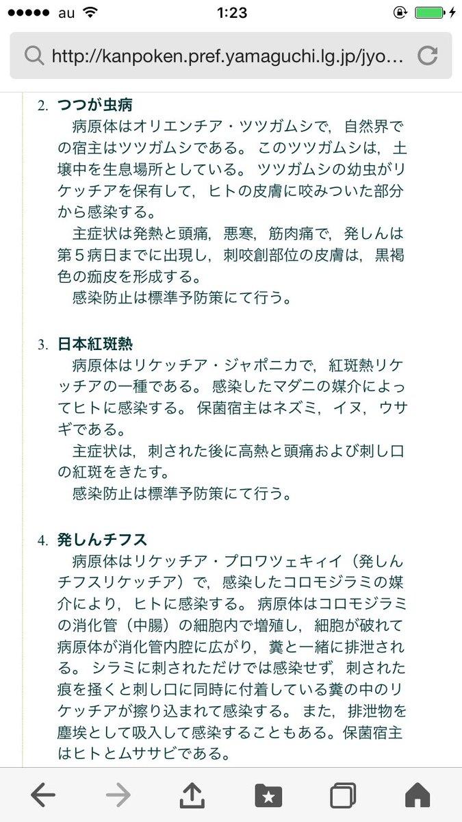 日本紅斑熱 hashtag on Twitter