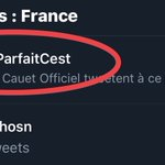 #LeMecParfaitCest Twitter Photo