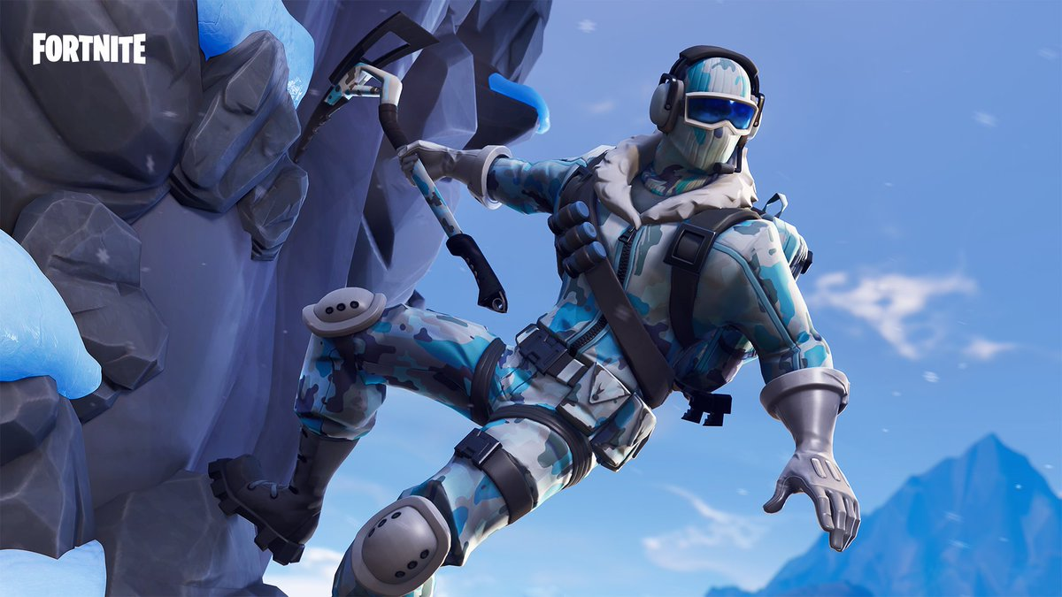 Fortnite On Twitter Ice The Competition The Deep Freeze