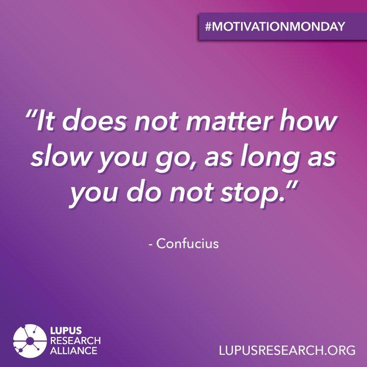 Lupus Research's photo on #motivationmonday