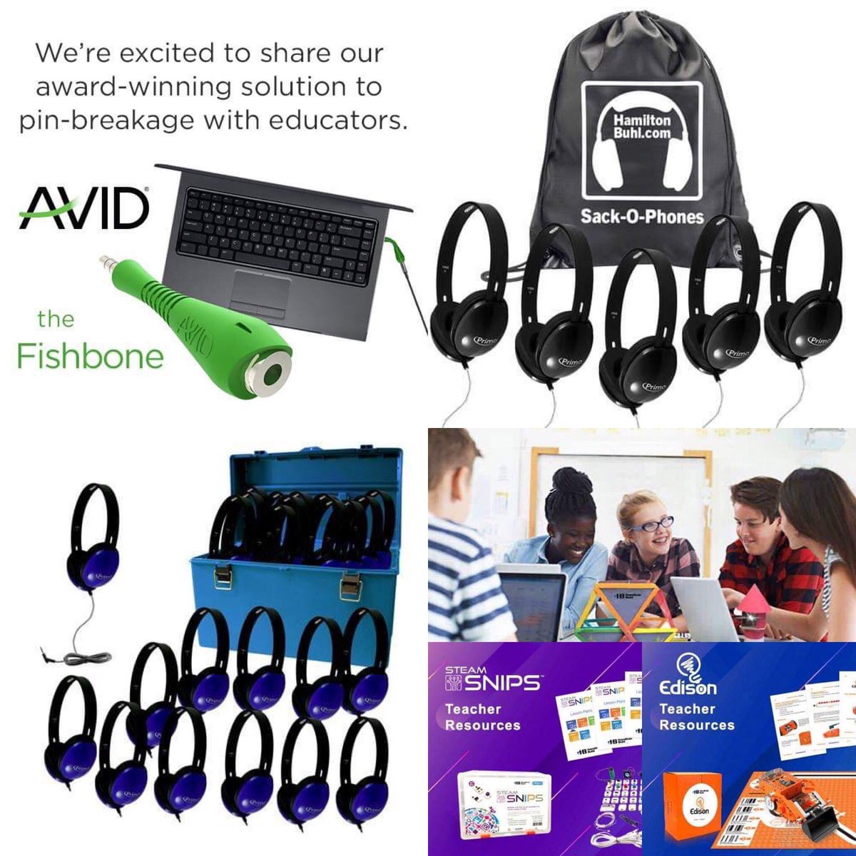 Your one stop resource for #education #technology !😎 Follow us on social media ,read our  blog and stay updated!😀🎧💻 Call toll free 866 926 1669 https://t.co/VU1MtCeRPc  #headsets #headphones #schoolsupplies #STEMDirector #curriculumdirector #cyberacoustics #califone #k12 https://t.co/XcZONvcKMp