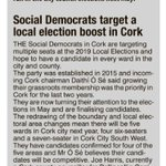 Image for the Tweet beginning: EVENING ECHO@SocDems will be campaiging
