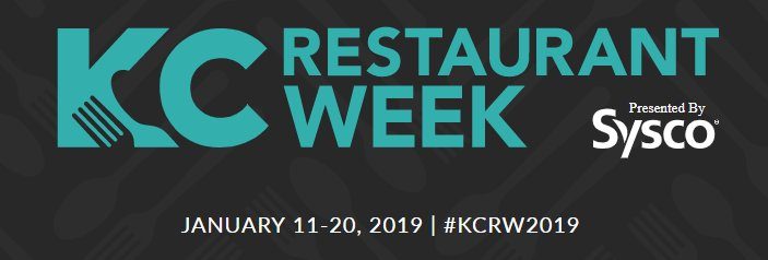Here's your early reminder! KC Restaurant Week begins January 11 and runs until the 20th. Click the link below for more details and to see who's participating! #KCRW #GKCRA  https://bit.ly/1pmChKw