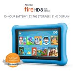 """All-New Fire HD 8 Kids Edition Tablet, 8"""" HD Display, 32 GB, Blue Kid-Proof Case https://t.co/wteqAy2EOK"""