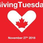 #givingtuesdayca Twitter Photo