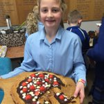 Congratulations to the winners of today's House Bake Off. 1st place went to Millie for her cookie dough pizza, 2nd place went to Amelia for her mincemeat shortbread and 3rd place went to Edward for his blueberry cake. #bakeoff #baking #LongacreLife