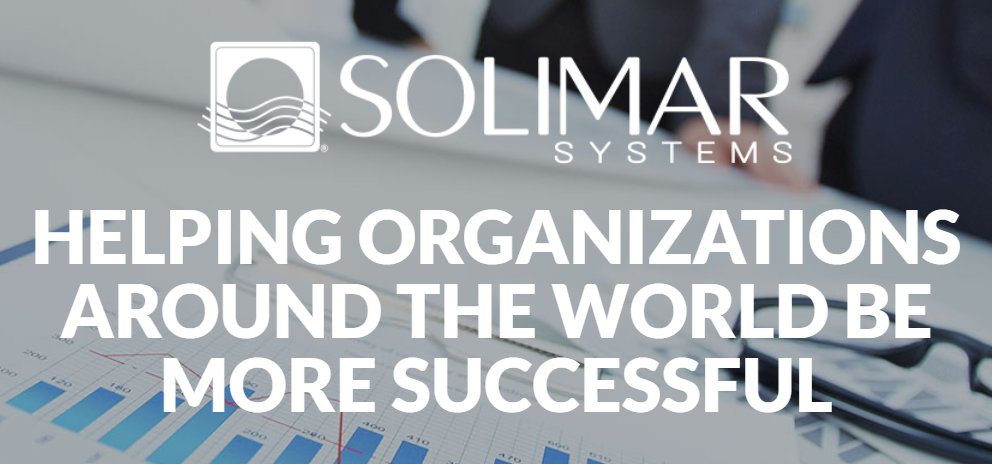 Solimar Systems's photo on #motivationmonday