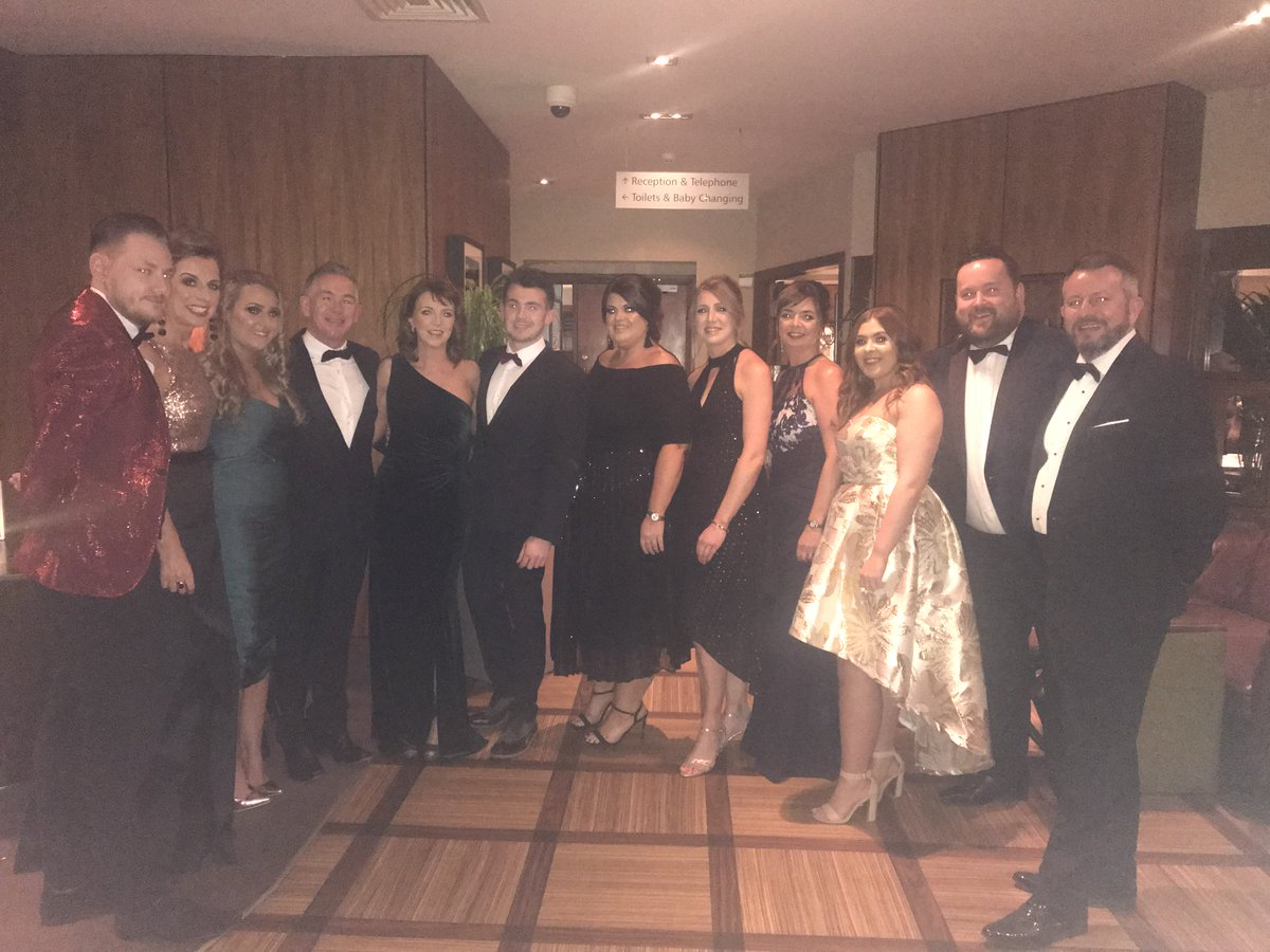 Team @HotelWaterside @simpsinns all set for tonight's @VOWSAwards. Best of luck team! #WatersideWeddings #Ayrshire