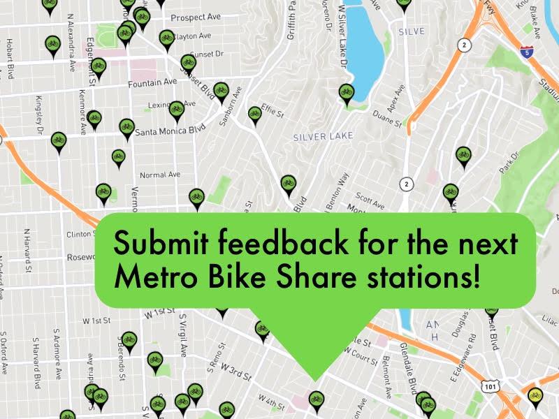 La Metro Map 2018.Metro Bike On Twitter Metro Bike Share Is Expanding To Central La