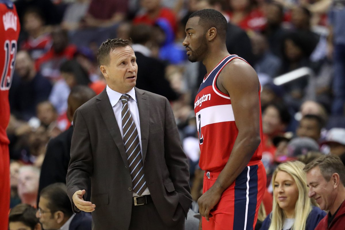 Wizards fine John Wall for saying 'F--k you' to Scott Brooks