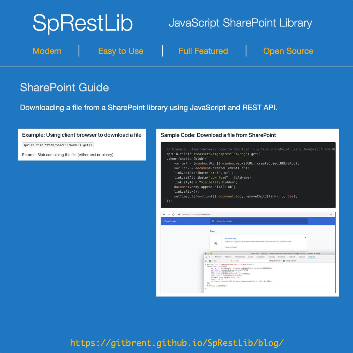 JavaScript SharePoint Library on Twitter: