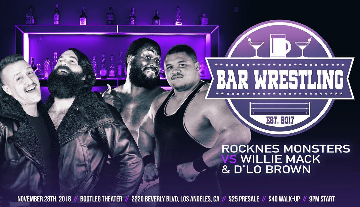 Bar Wrestling on Twitter: