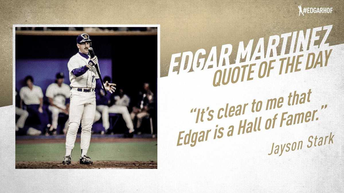 Edgar Martinez - one of the top all-around hitters of his era - is once again on the @baseballhall ballot. #EdgarHOF More: atmlb.com/2KdsBPj