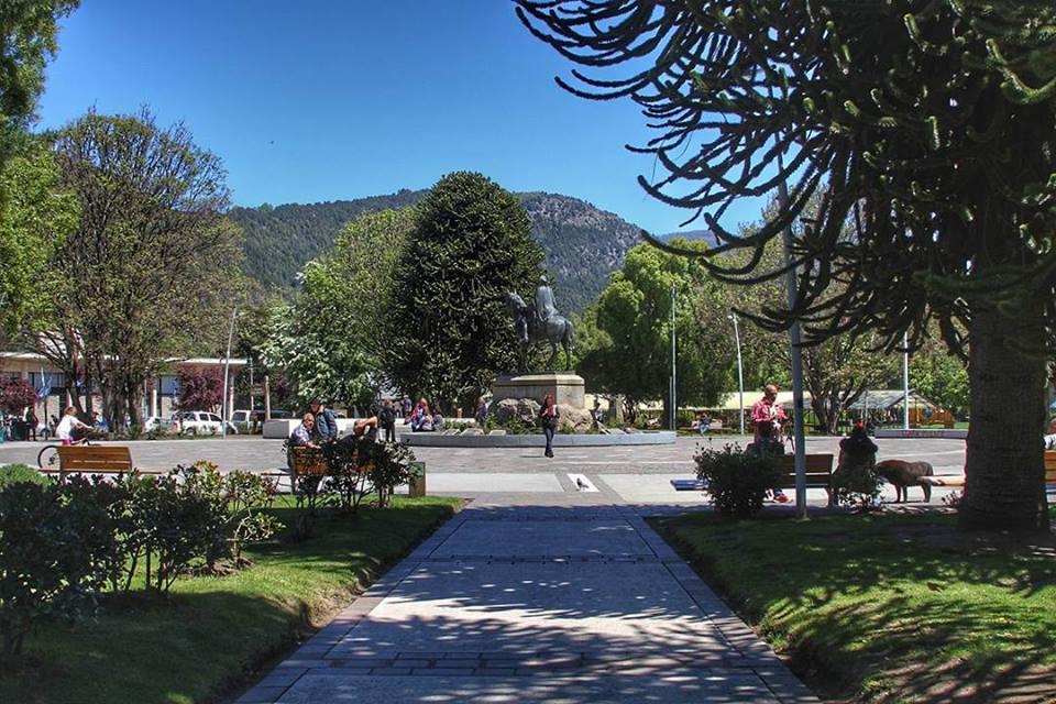 Resultado de imagen para plaza san martin san martin de los andes