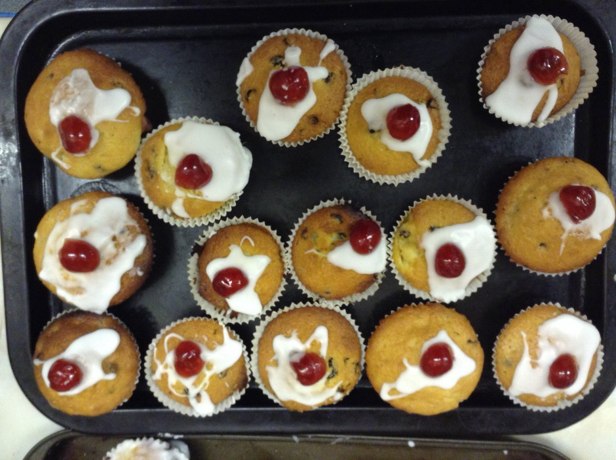 """EYFS @ DHPS on Twitter: """"Baking currant buns with a cherry on top ..."""