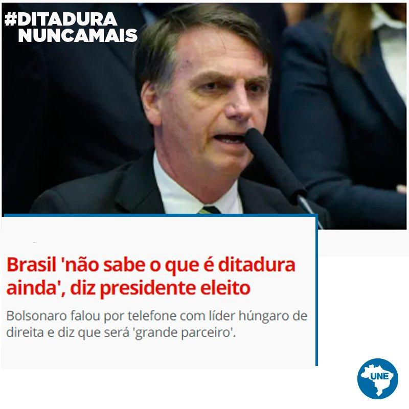 #DitaduraNuncaMais Leia: https://t.co/XoD8TfMbkY