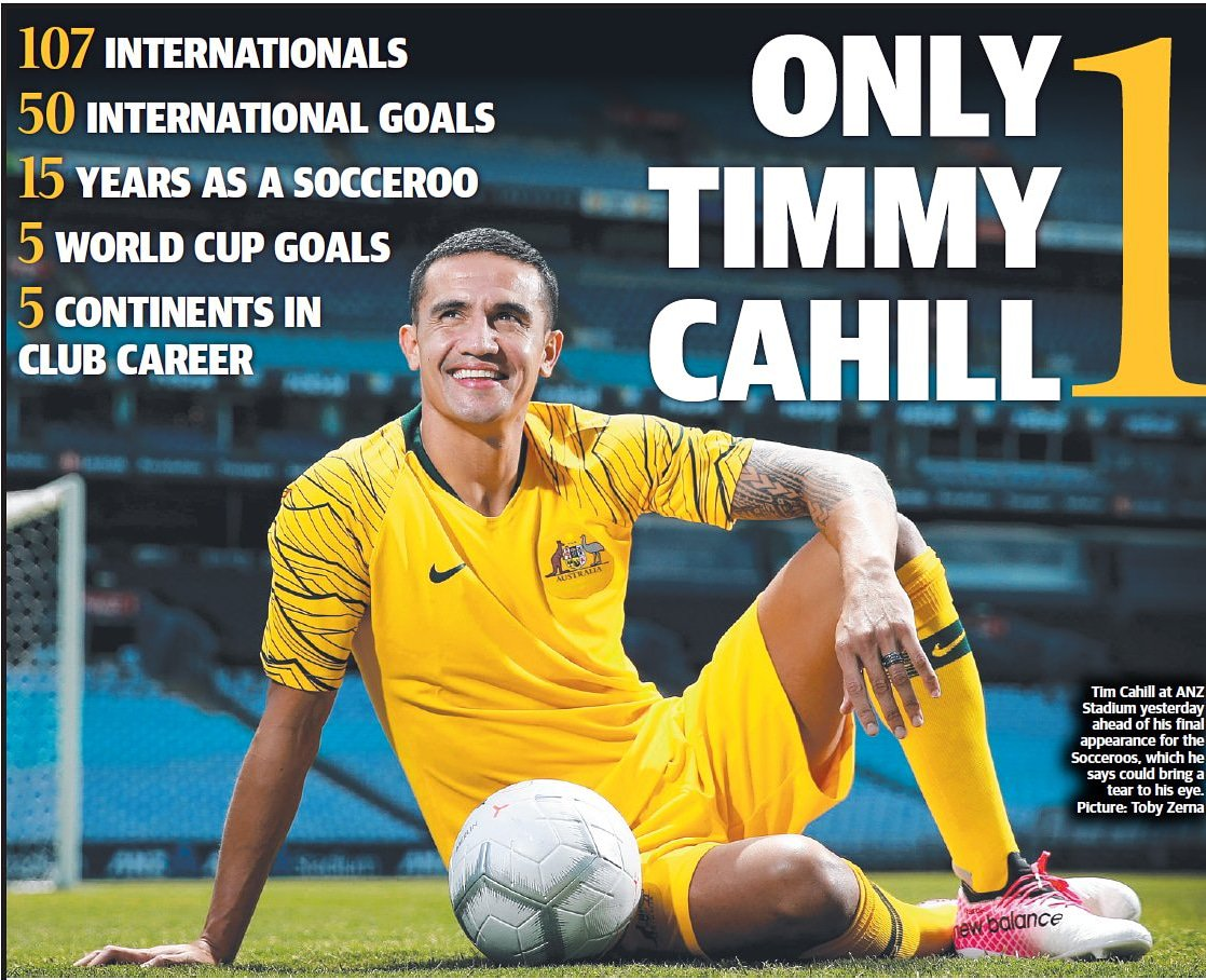 TIM CAHILL's photo on Tim Cahill