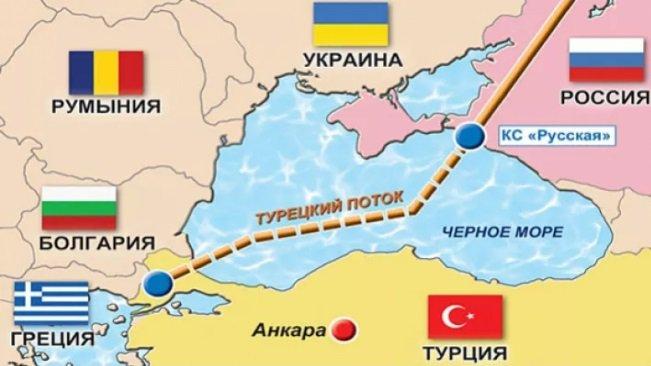 В Стамбуле празднуют завершение морской укладки газопровода в обход Украины Эрдоган подчеркнул, что «Турецкий поток» носит историческое значение и выразил надежду, что в 2019 г будет достроена наземная часть по территории Турции и газопровод будет готов... Фото