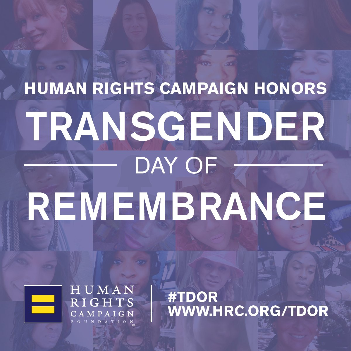 1/ Today is #TransDayOfRemembrance, a time to reflect and recommit to ending the epidemic of anti-trans violence.   Heartbreakingly, 2018 has seen at least 22 trans people killed by violent means -- the majority of whom were Black trans women. #TDOR https://t.co/lTZMLGJKVX