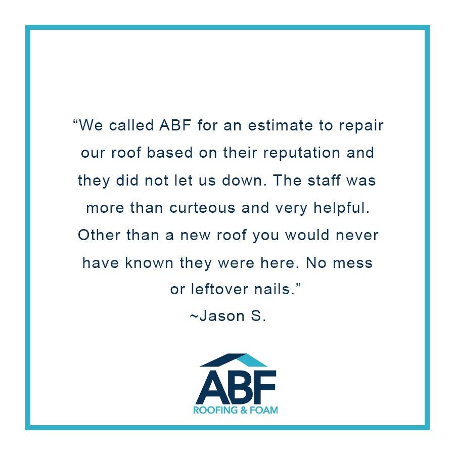 ABF Roofing & Foam on Twitter: