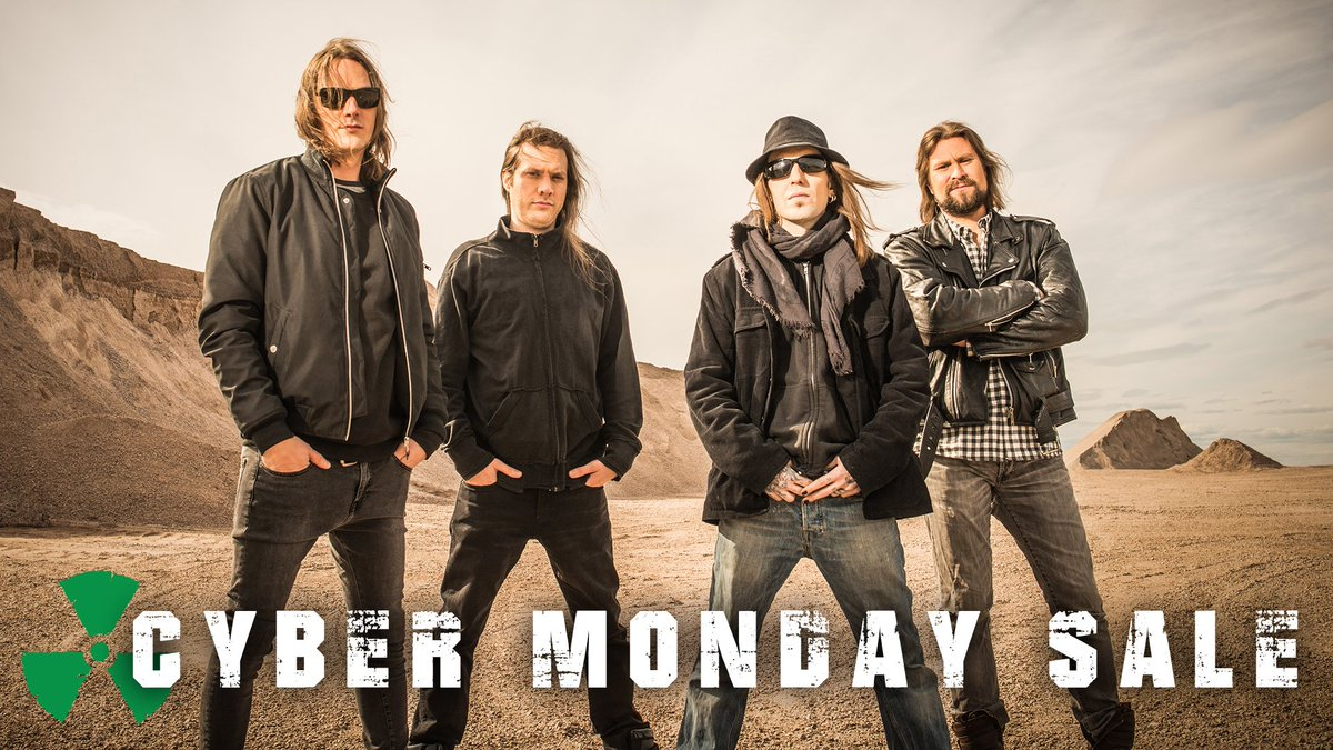"CYBER MONDAY SALE One Day Only! Our albums ""Halo Of Blood"" & ""I Worship Chaos"" are on special now at the Nuclear Blast store! Have a look at: NA: https://t.co/L2vWVTln3r UK: https://t.co/cVaVH5Z1bO https://t.co/PfAPjdcidz"