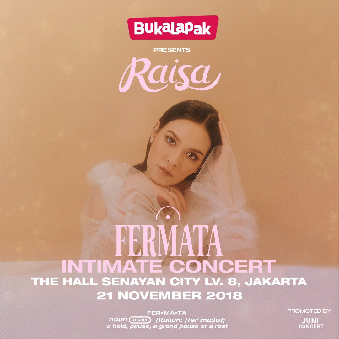 So ready to meet you guys at #RaisaFermata concert! ❤️ so, whos coming??