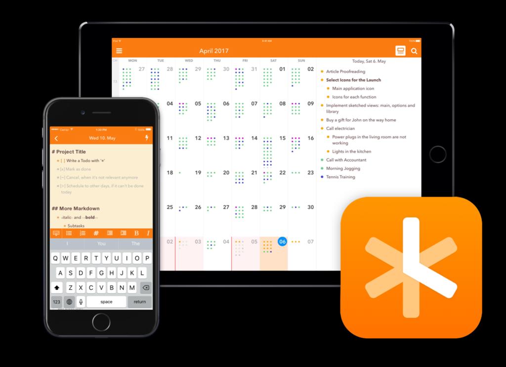 تحميل تطبيق NotePlan Calendar تسجيل الملاحظات النسخة الكاملة المدفوعة للايفون مجانا 2019