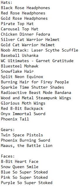 Names Of Roblox Faces Uzivatel Roblox Catalog Info Na Twitteru As Promised Here Is The List To The Items For Black Friday There S Also Probably Going To Be Rthro Bundles As Well Coming Out This List