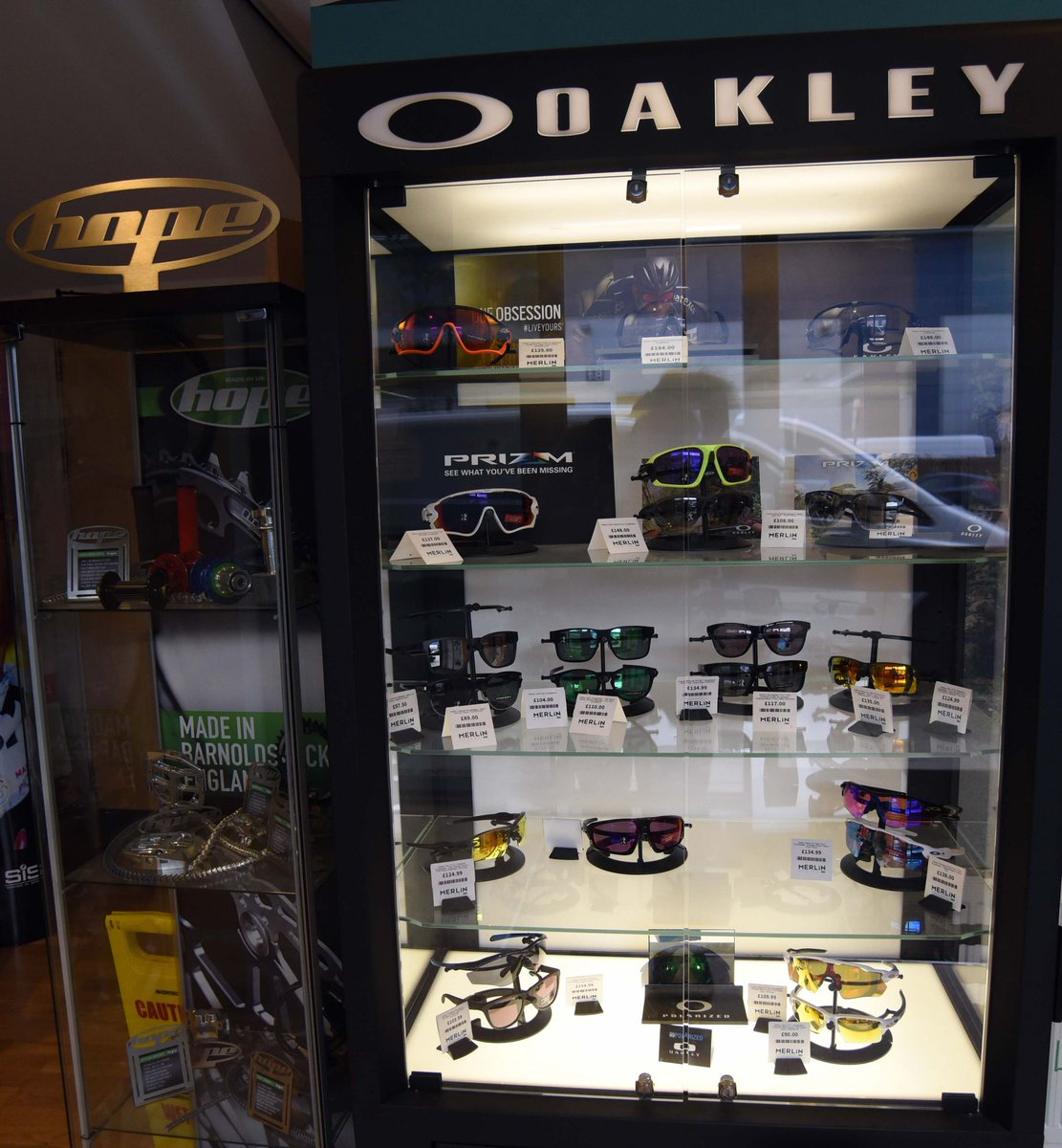 f1014de2f5 ... Oakley sunglasses just one of the brands! Huge range available of this  specialist cycling & casual sunglasses #oakleysunglasses #oakleycycling  Link: ...