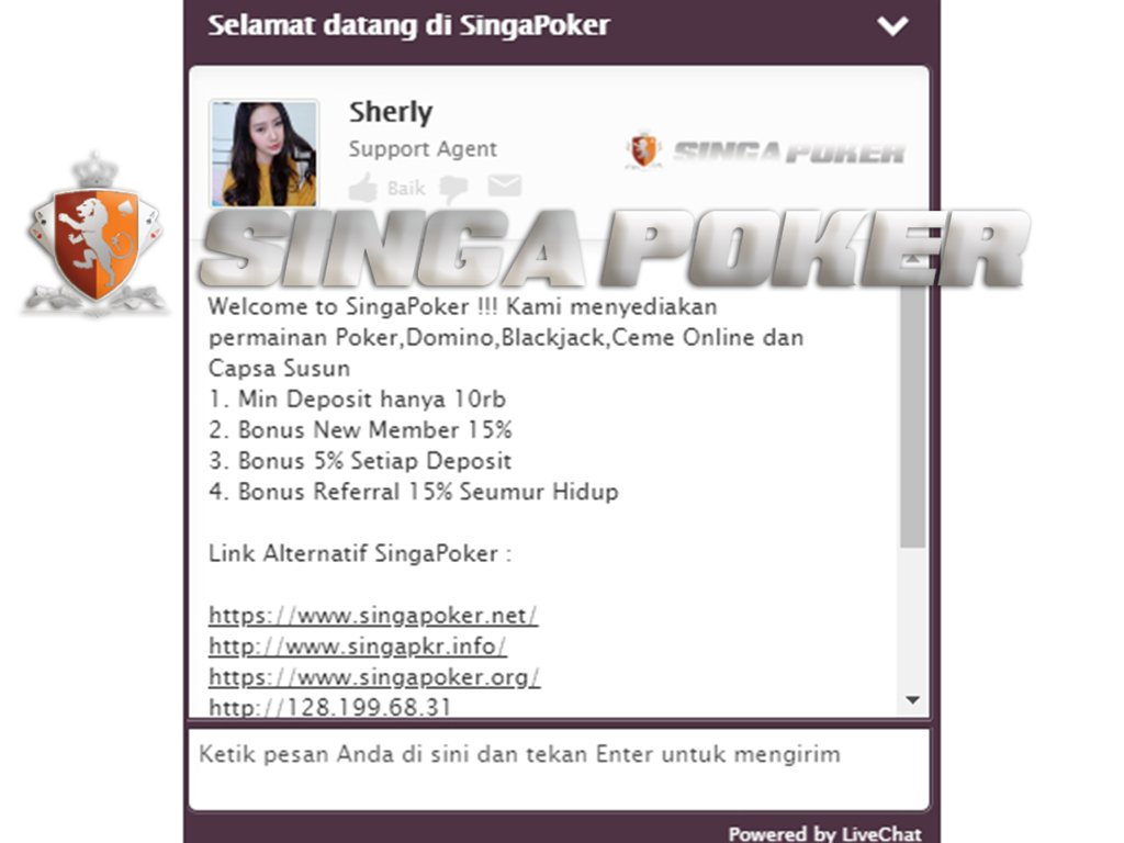 Livechatsingapoker Hashtag On Twitter