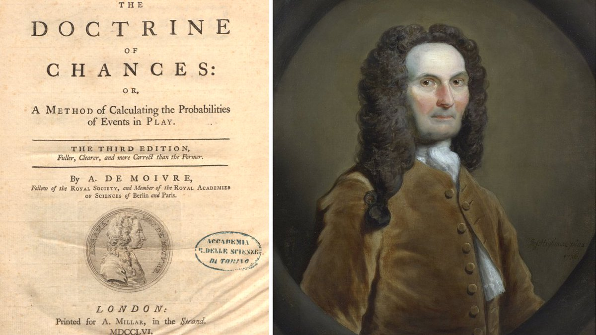 Abraham De Moivre: Setting the Stage for Classical Probability and Its Applications