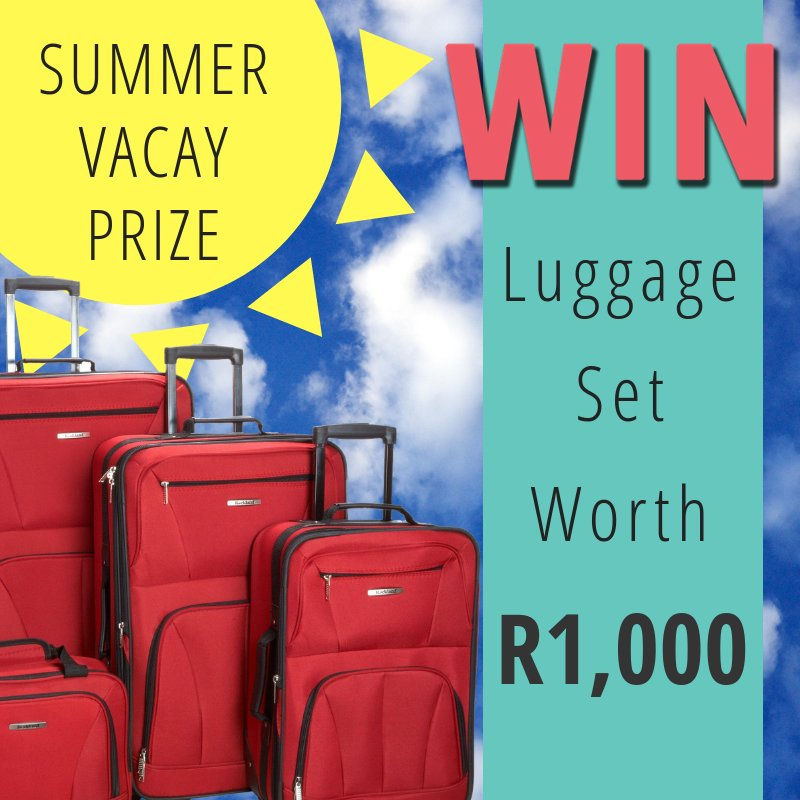 Your Summer vacay could be getting a whole lot more fun with a brand new trampoline worth R2,000 😜  Entries close at midnight tonight so get playing now to stand a chance of winning... https://t.co/k7yfuY84u2 https://t.co/2mNKdJYcO0