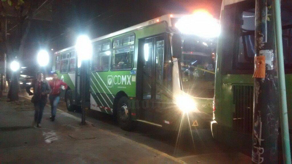 Circuito Bicentenario Expreso : Se registra asalto a transporte público en circuito interior