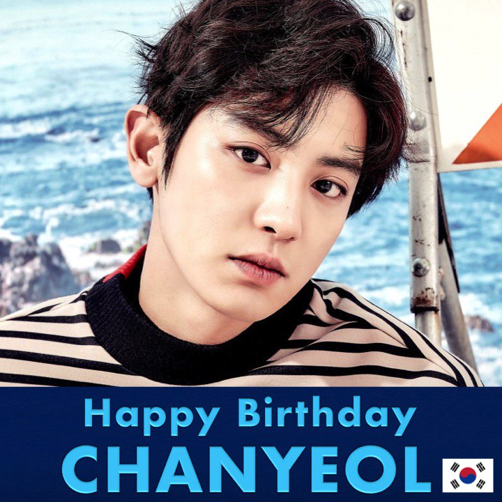 Happy 26th Birthday to #EXO's handsome and multitalented #CHANYEOL! #HappyChanyeolDay!   💖🇰🇷🎶🎤🎂🎉🎁🎈😍🌟🎇   https://t.co/LrvdvTwpkR