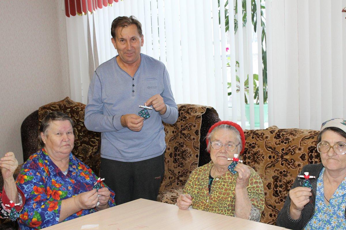 Краснобаковский дом интернат для престарелых и инвалидов поздравление с юбилеем дома престарелых